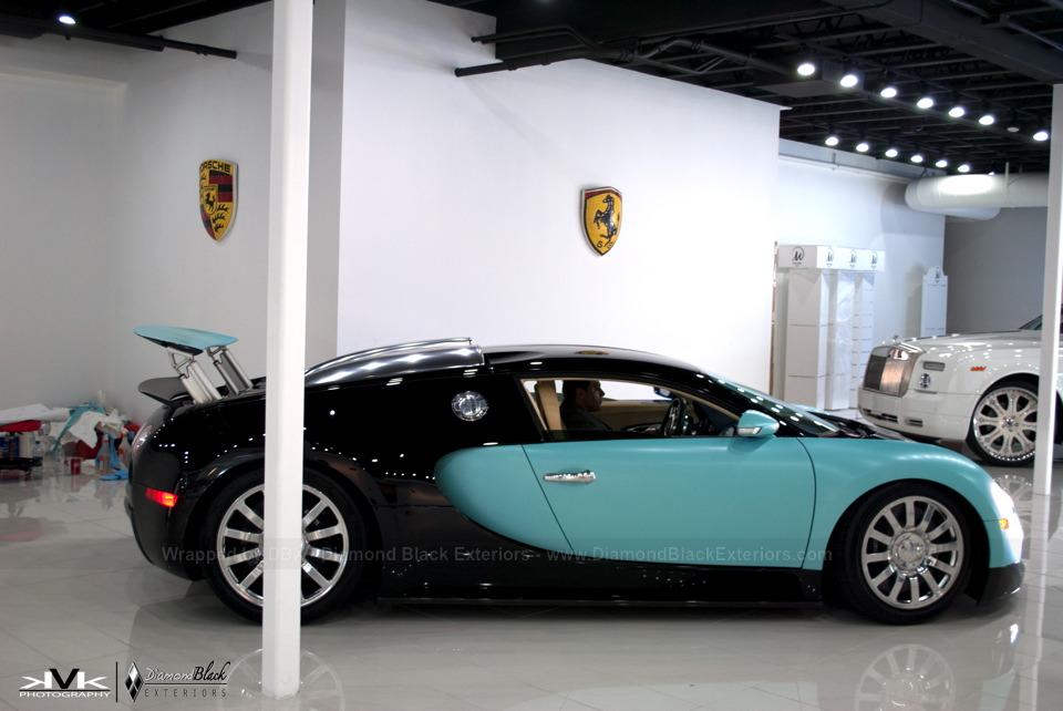 Bugatti Veyron Looks Like A Prom Dress In Tiffany Blue