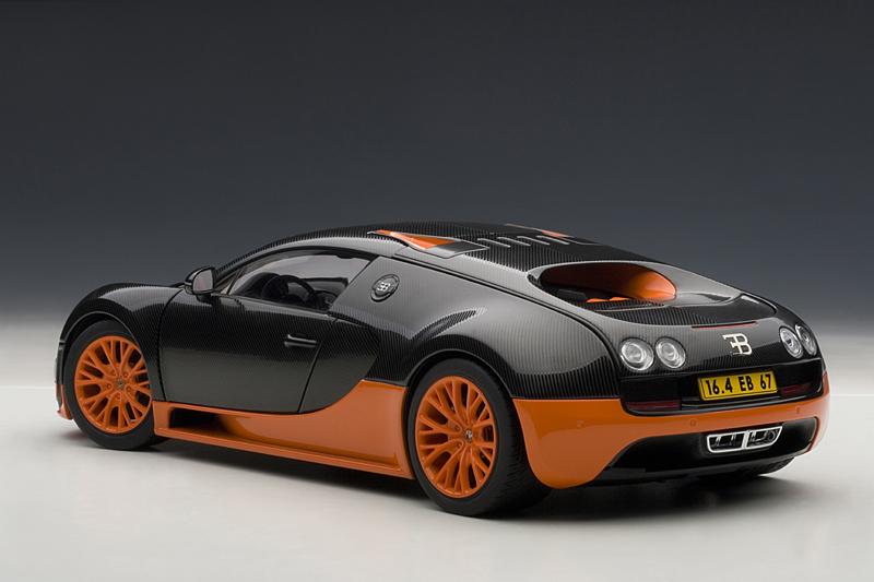 bugatti veyron super sport world record edition is now a scale model autoevolution