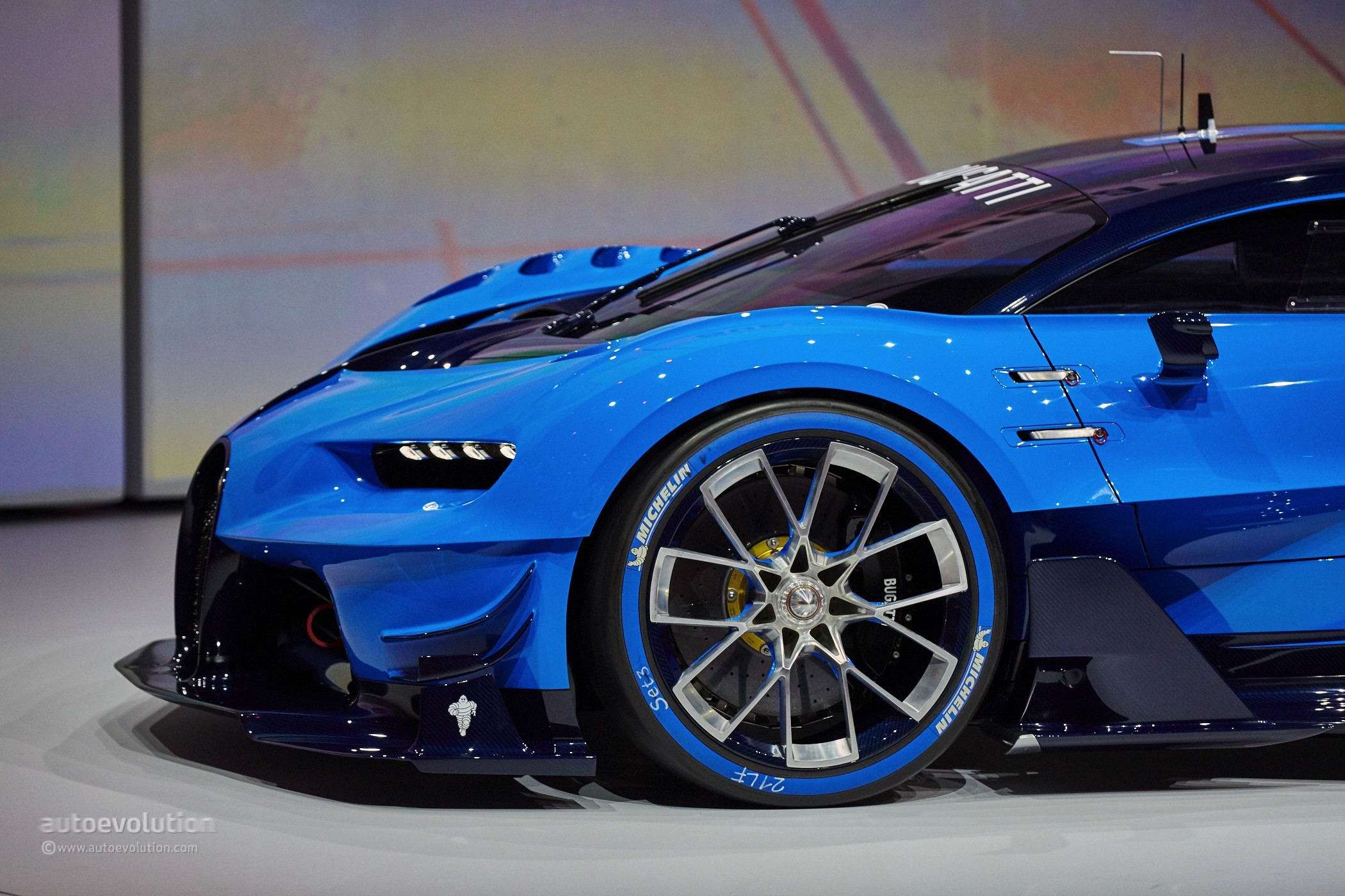 Bugatti Vision Gran Turismo Is Far From The Chiron We Wanted To See In Frankfurt Autoevolution