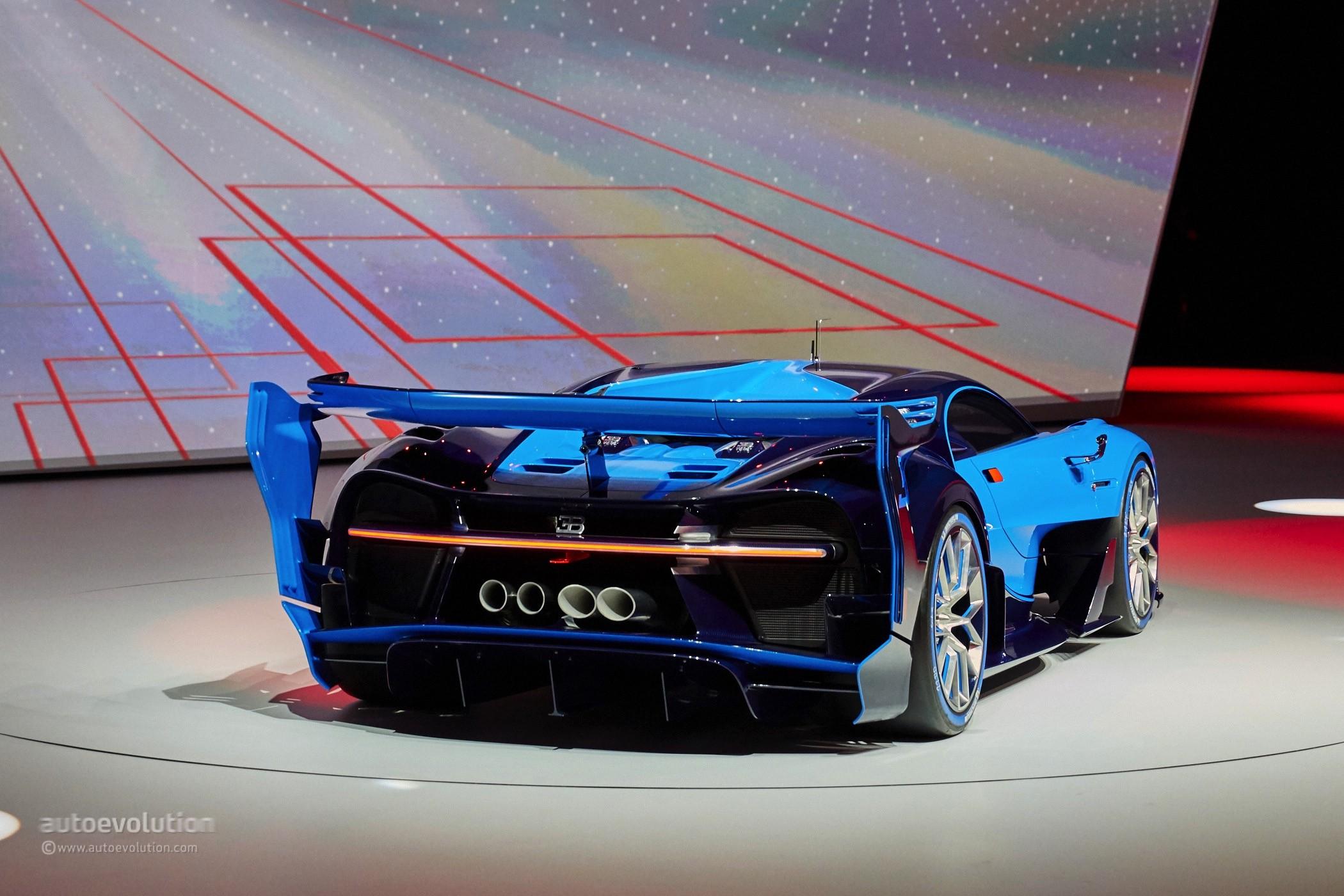 Bugatti Vision Gran Turismo Is Far from the Chiron We ...
