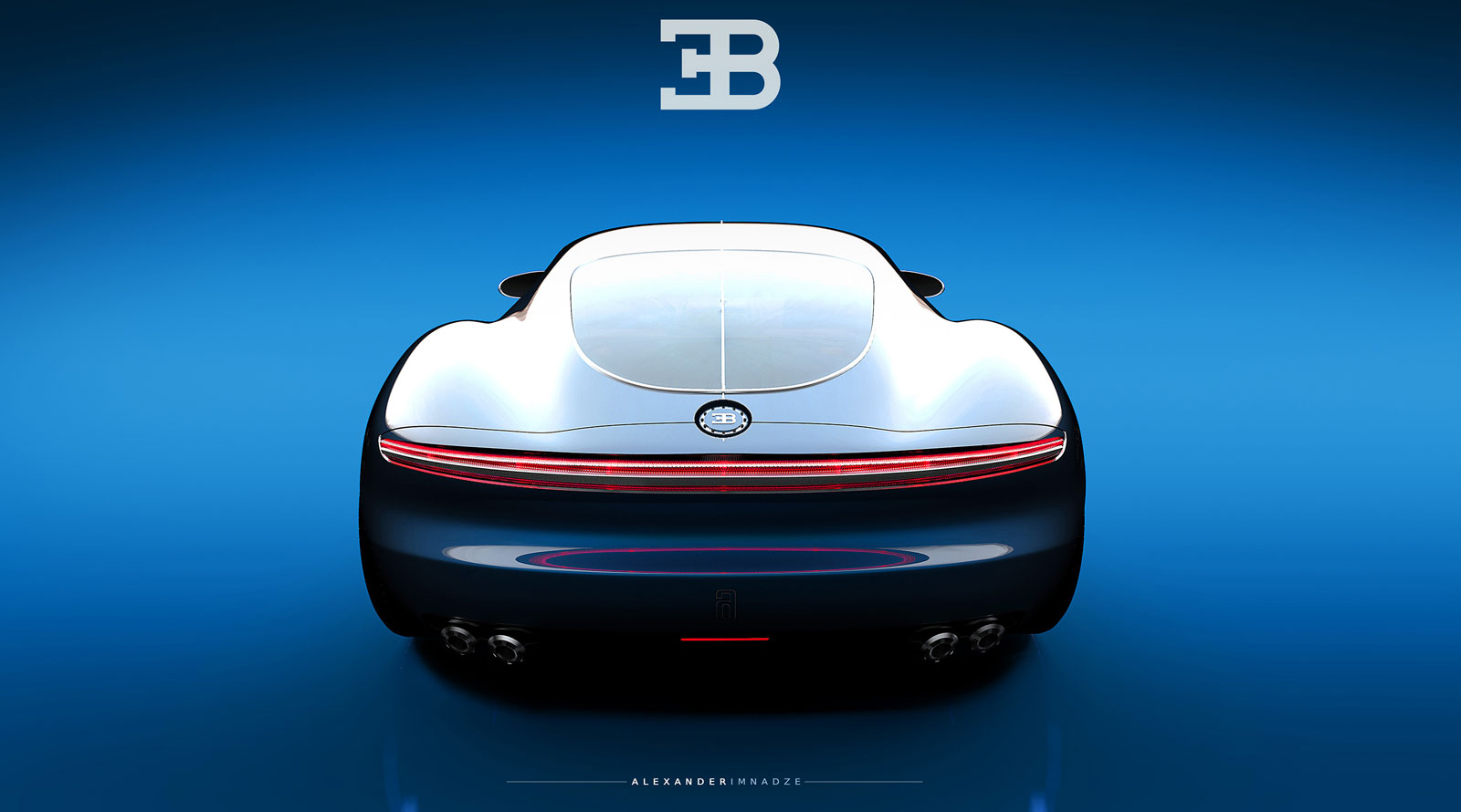 Bugatti Vision Gt Concept Reinvented At Sleek Coupe With