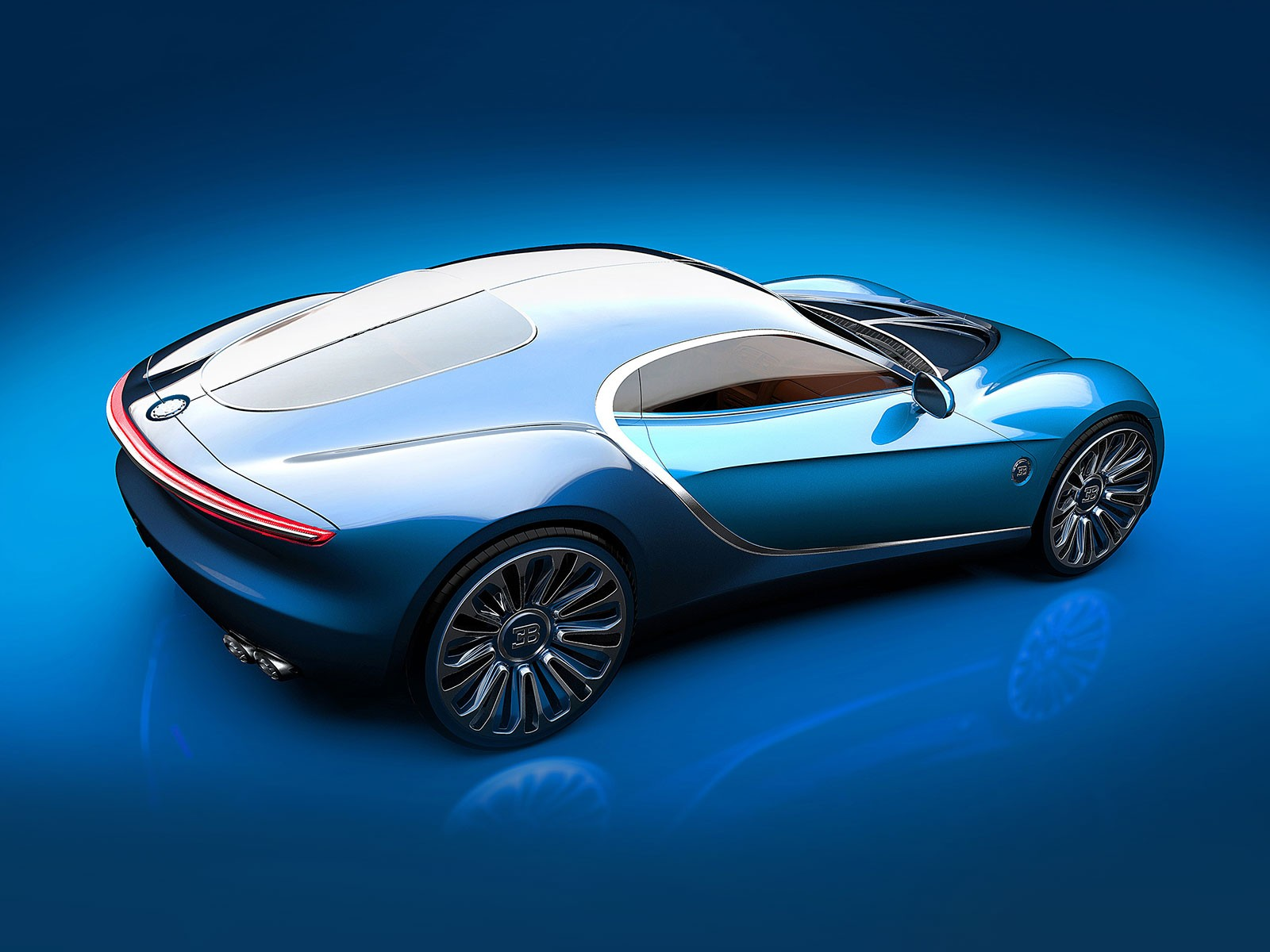 Bugatti Vision Gt Concept Reinvented At Sleek Coupe With Classic Proportions Photo Gallery