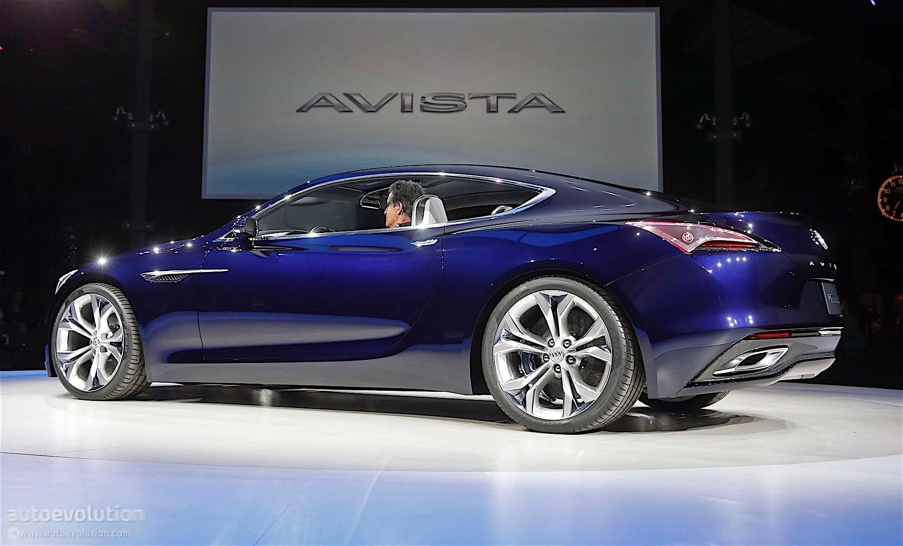 Buick Avista Concept Bows at 2016 Detroit Auto Show - autoevolution