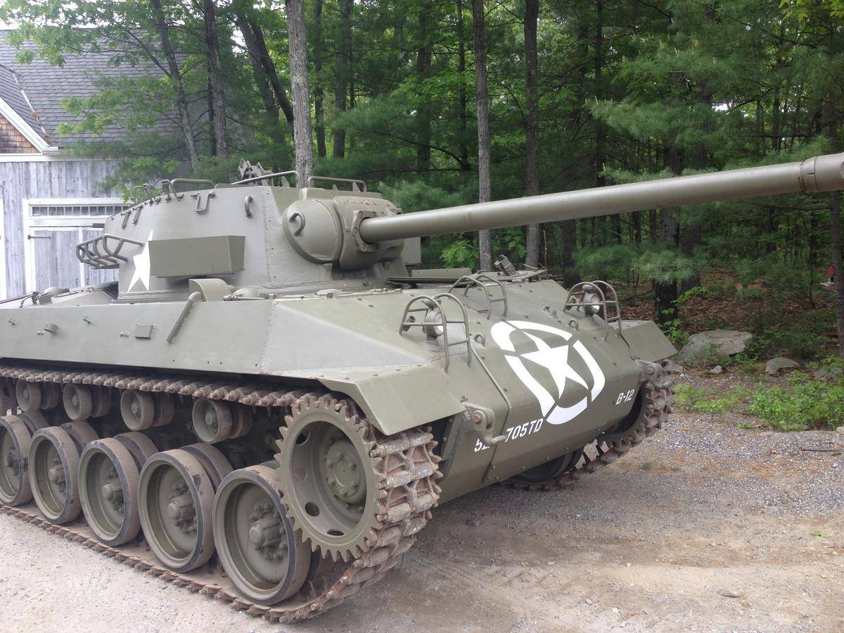 Dodge Viper For Sale >> Buick Built a Hellcat Before Dodge: M18 Hellcat WWII Tank For Sale at $250,000 - autoevolution