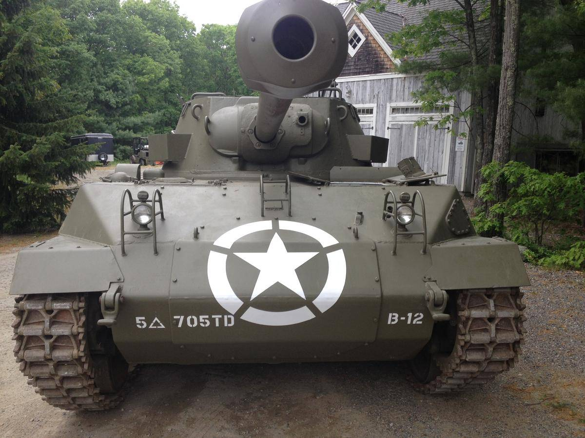 M18 Hellcat For Sale >> Buick Built a Hellcat Before Dodge: M18 Hellcat WWII Tank For Sale at $250,000 - autoevolution