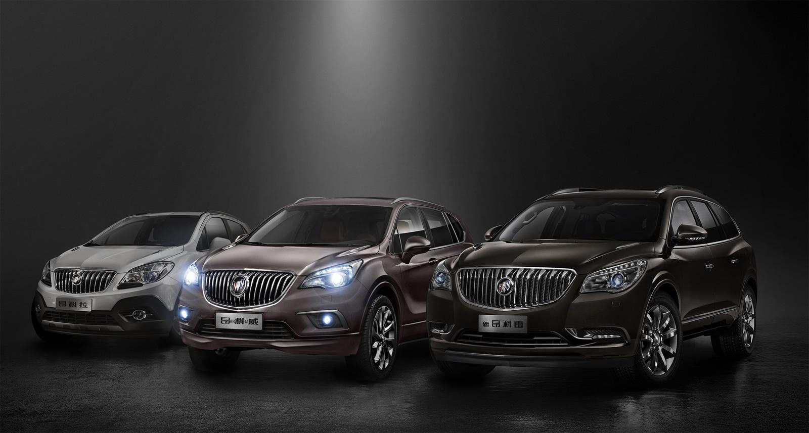 Buick Encore Bike Rack >> Buick Envision Unveiled in China - autoevolution