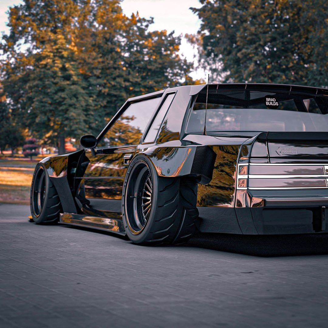 "Buick Regal Grand National ""Cyberpunk Grandpa"" Looks Ready"