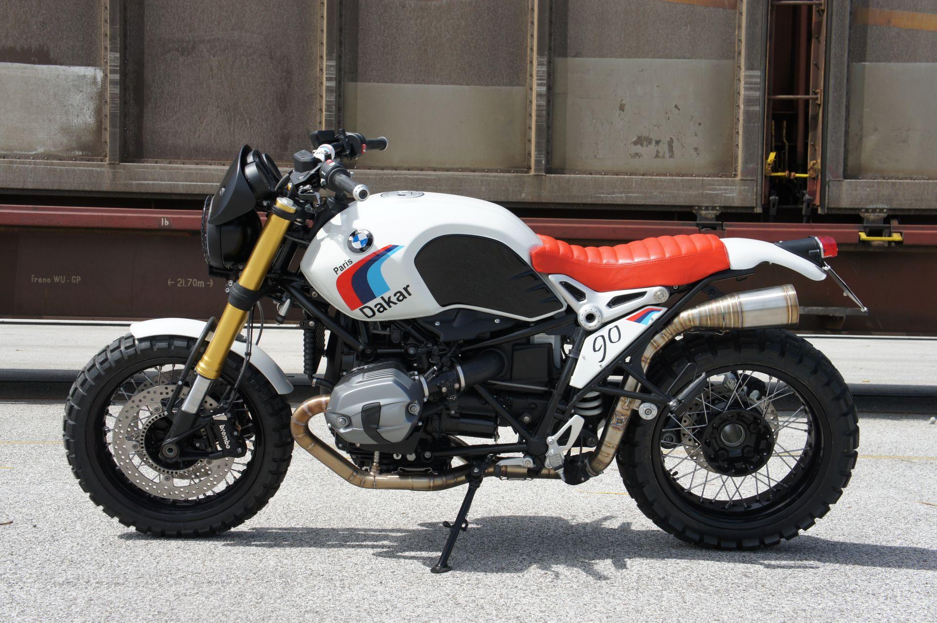 Build a Breathtaking Paris-Dakar BMW R nineT with the Luismoto Kit - autoevolution