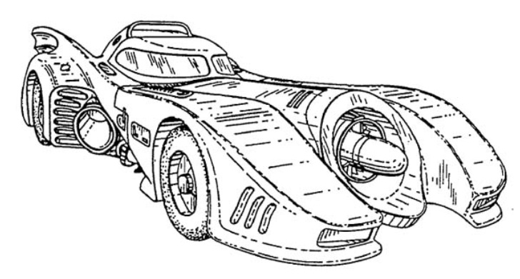 Build Your Own 1989 Batmobile Using These Blueprints