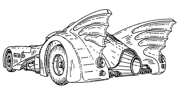 Build Your Own 1989 Batmobile Using These Blueprints ...