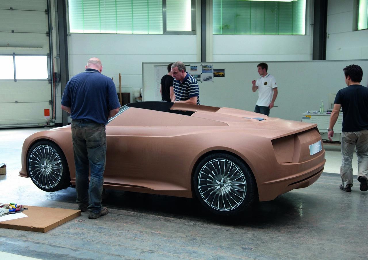 Building The Audi E Tron Spyder Autoevolution