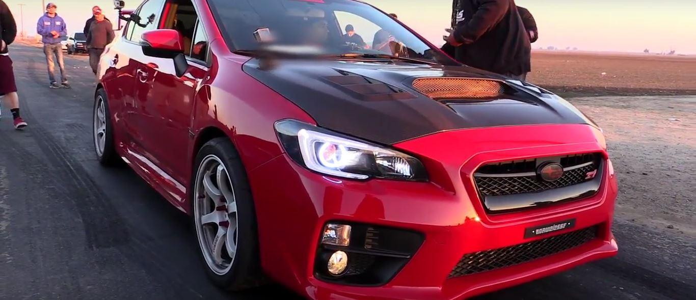 Built Engine Subaru WRX STI vs  Nitrous C6 Corvette $2,000