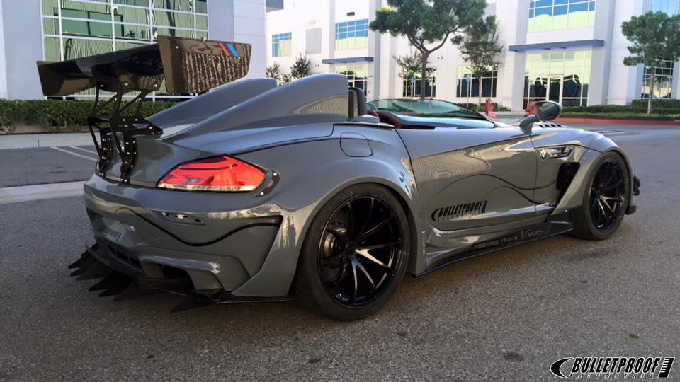 Bulletproof Automotive S Bmw Z4 Gt Continuum Isn T Actually Bulletproof At Sema Autoevolution