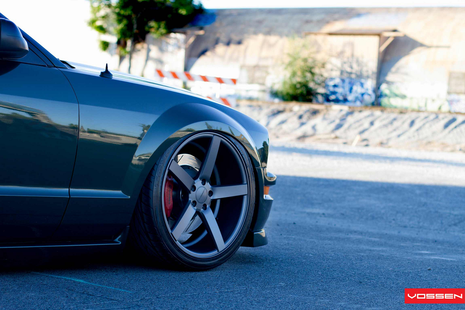 Bullitt Mustang On Concave Vossen Wheels Autoevolution