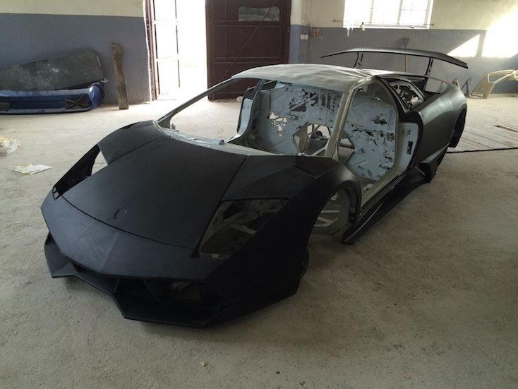Burned Down Lamborghini Murcielago Offered For Golf Gti Money On