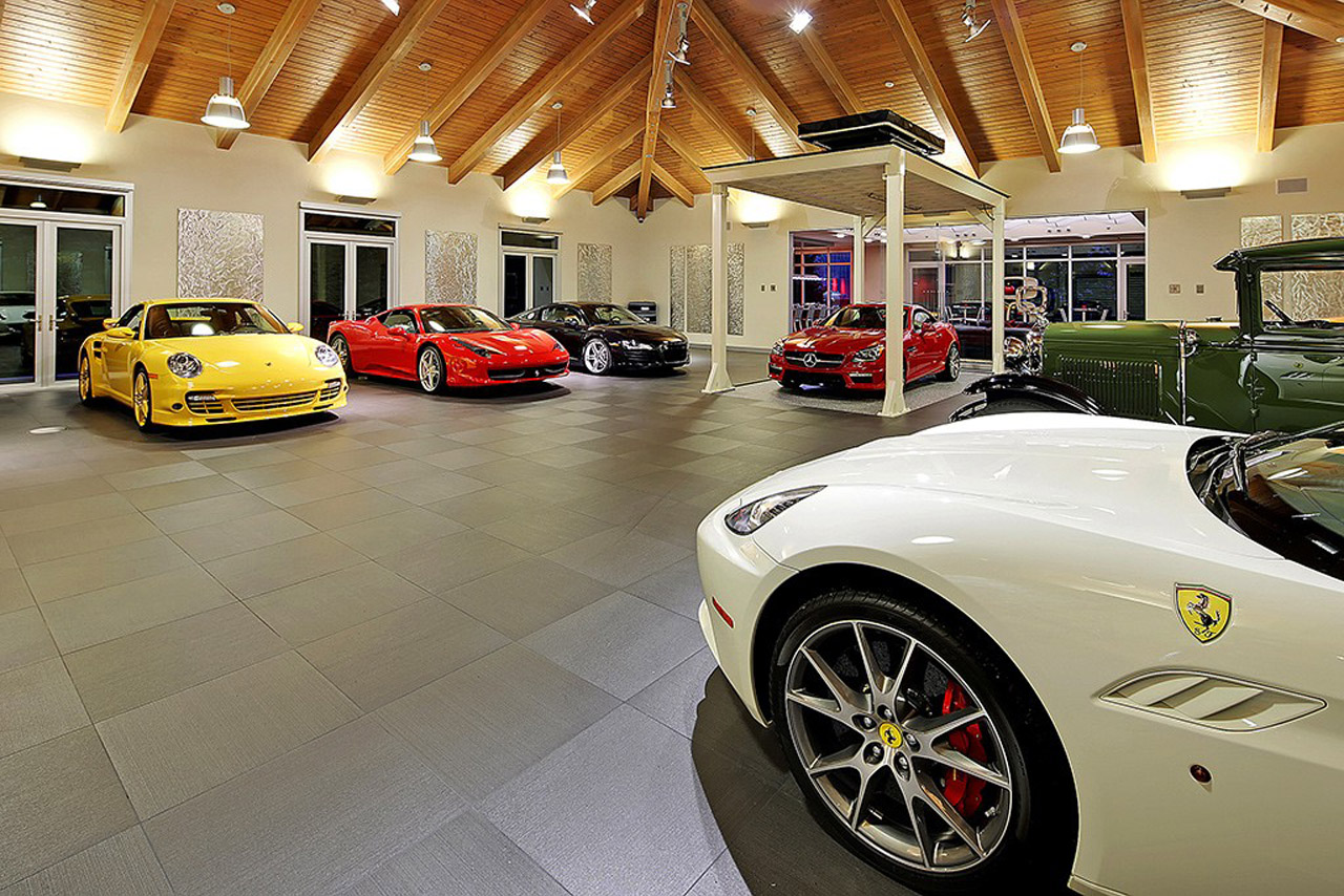 Buy This Car Lovers Mansion For 4M Photo Gallery