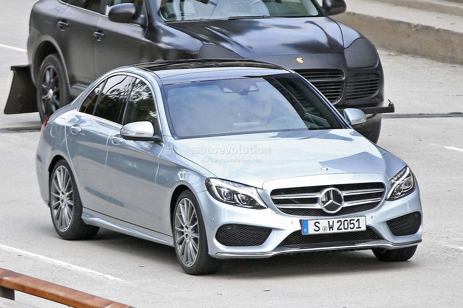 C Class W205 To Feature Stop And Go Automatic Pilot Autoevolution