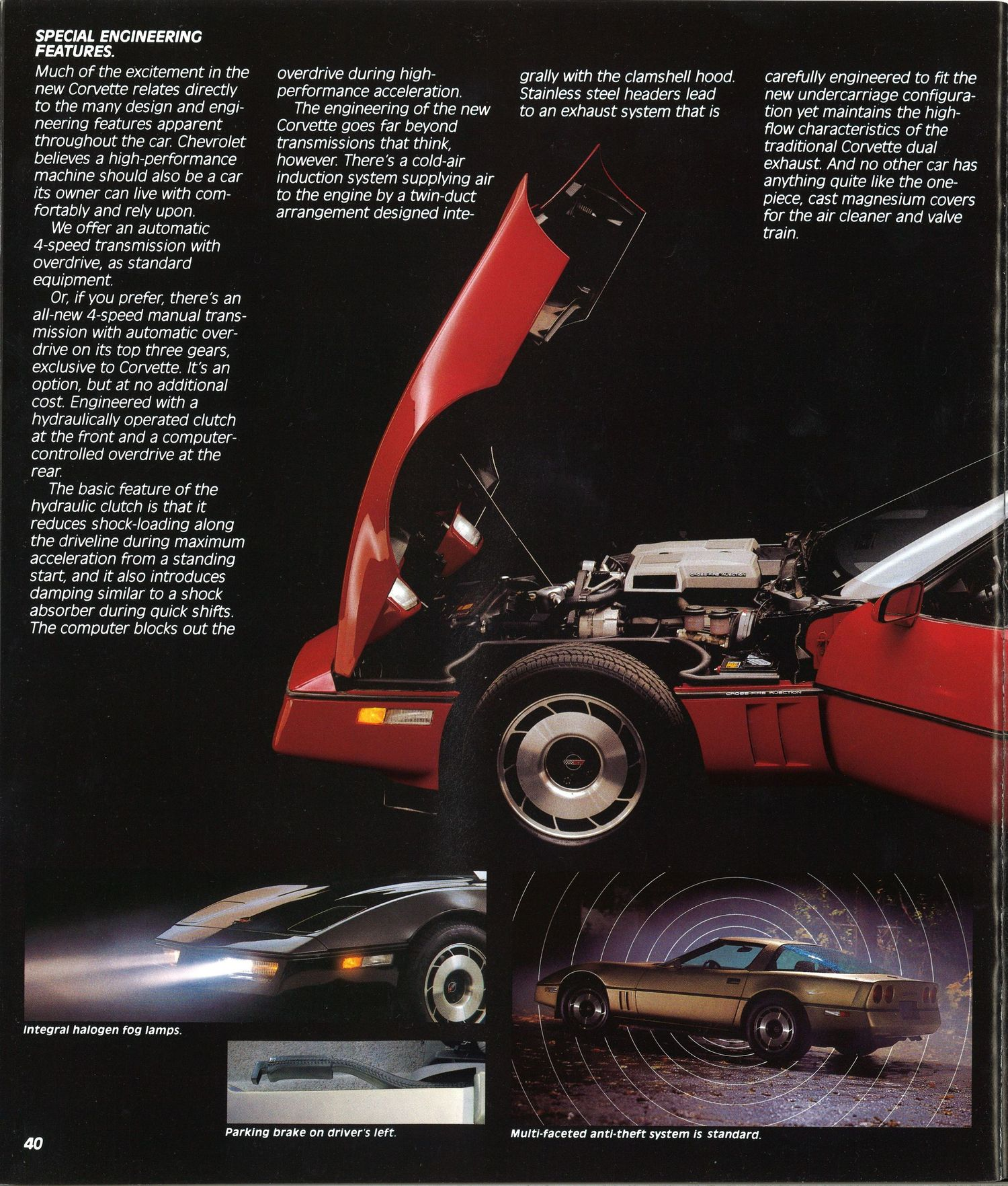 C Corvette Brochure Is A Blast From The Past Video Photo Gallery