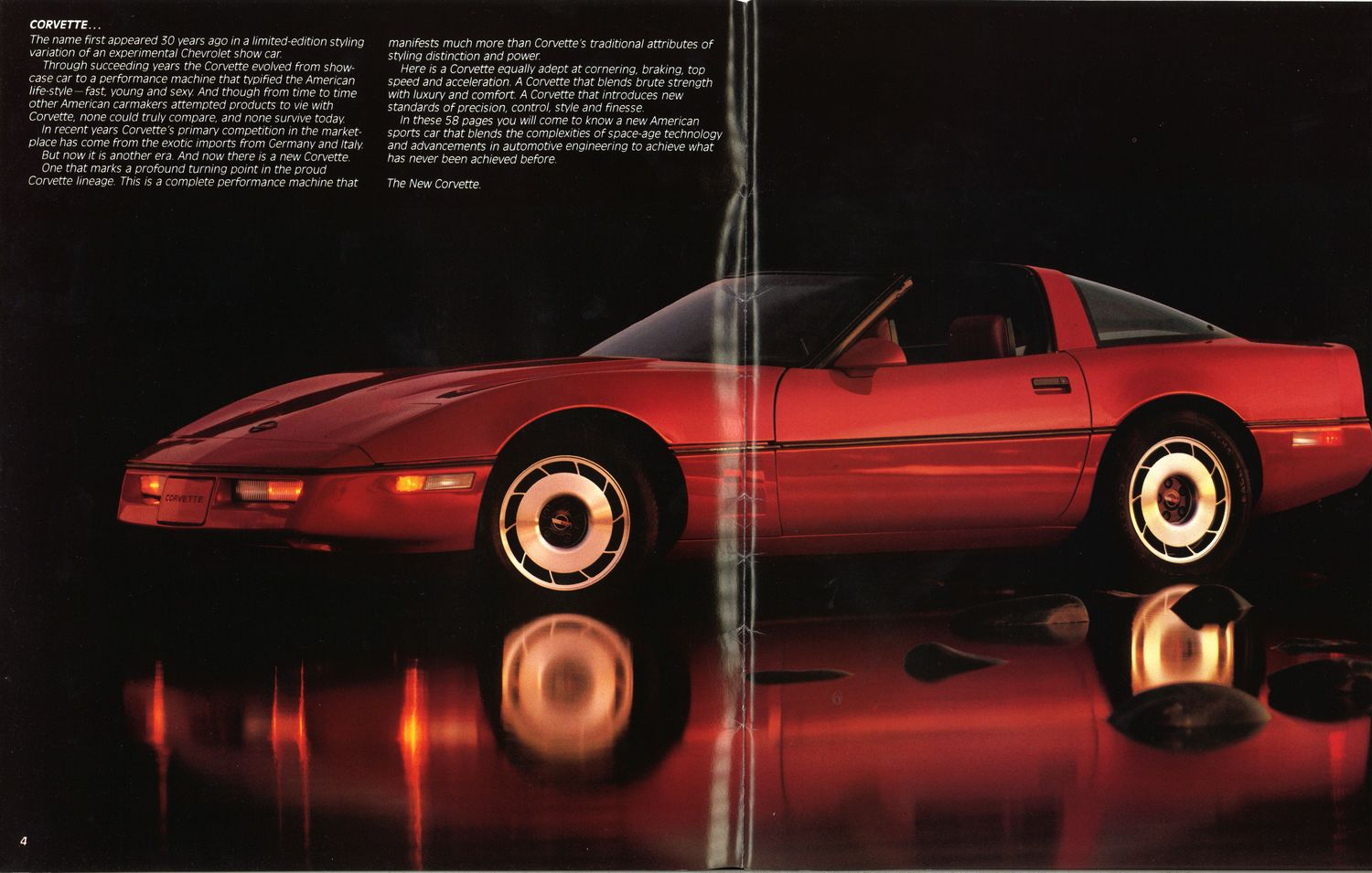 C4 Corvette Brochure is a Blast From the Past - autoevolution