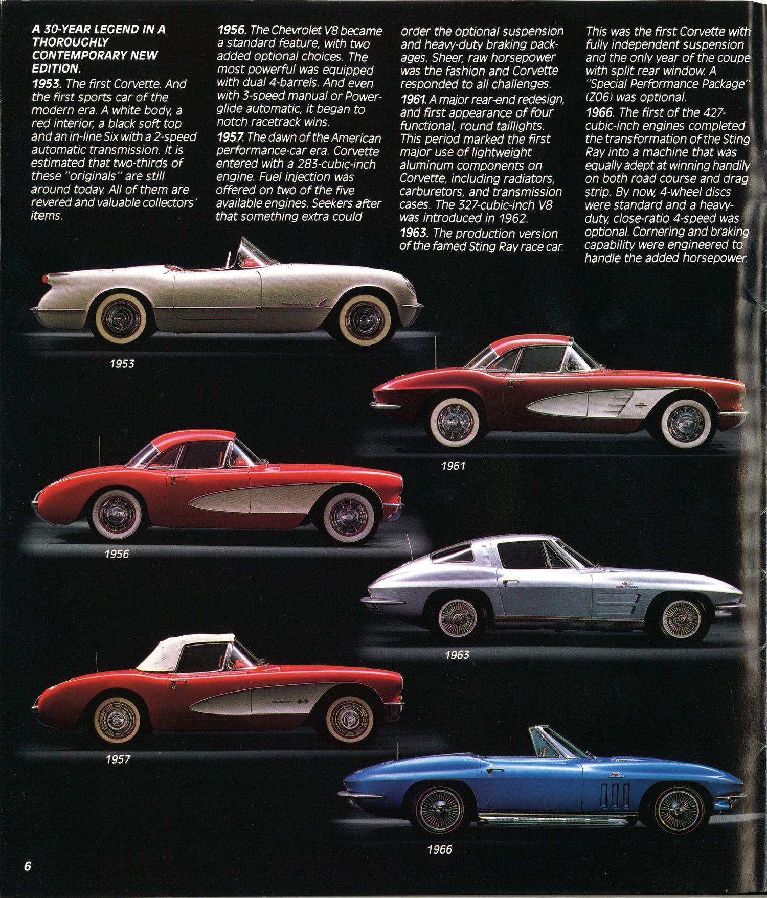 C4 Corvette Brochure Is A Blast From The Past Autoevolution