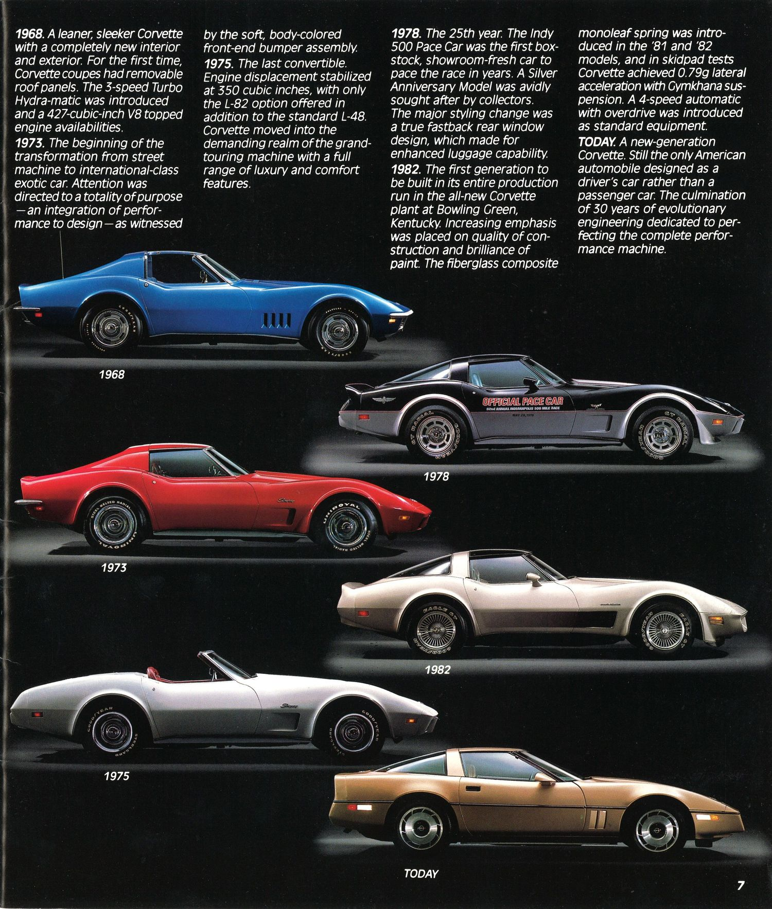 C4 Corvette Brochure is a Blast From the Past - autoevolution