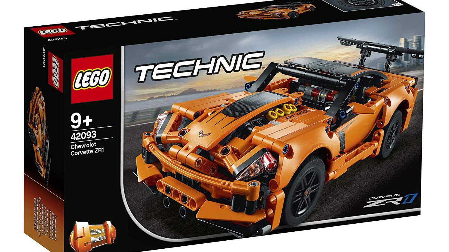 C7 Zr1 Gets The Lego Technic Treatment Priced At 50 Autoevolution