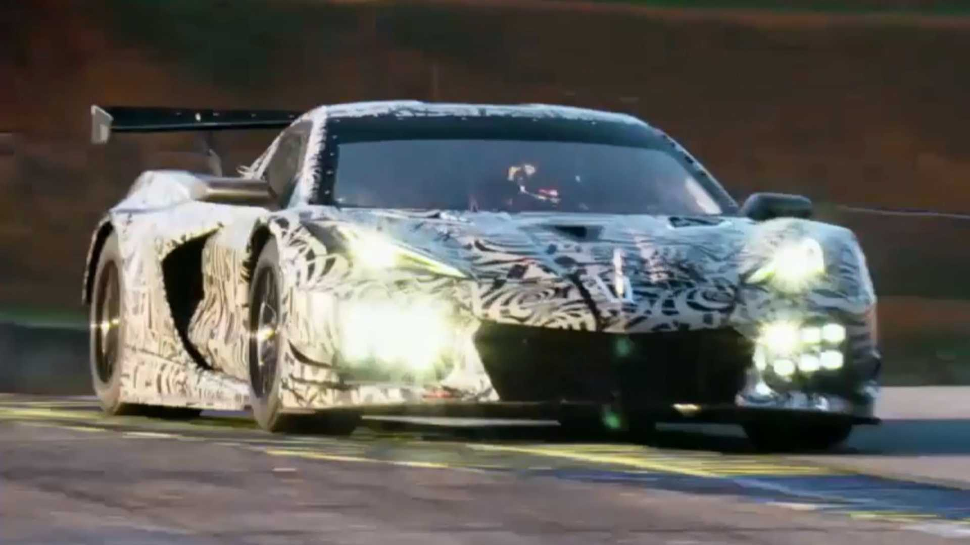 C8 Corvette Is Going Racing C8 R To Make Competitional Debut In