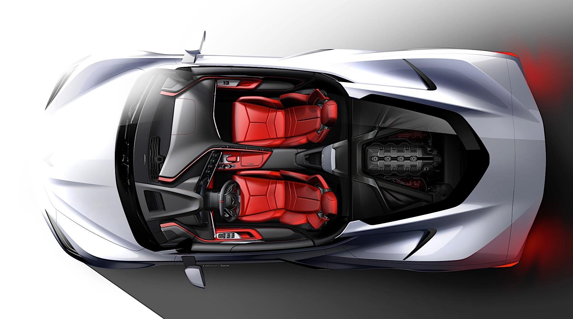 2020 Chevrolet Corvette C8 Z06 Rendered, Has Sculpted ...