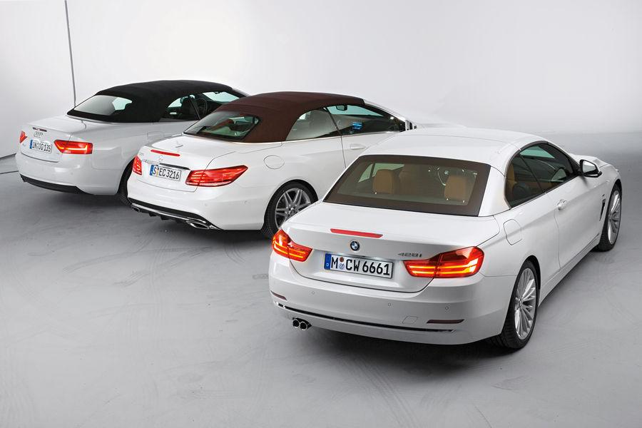 Cabrio Comparison Bmw Series Vs Audi A Vs Mercedes E Class Photo Gallery