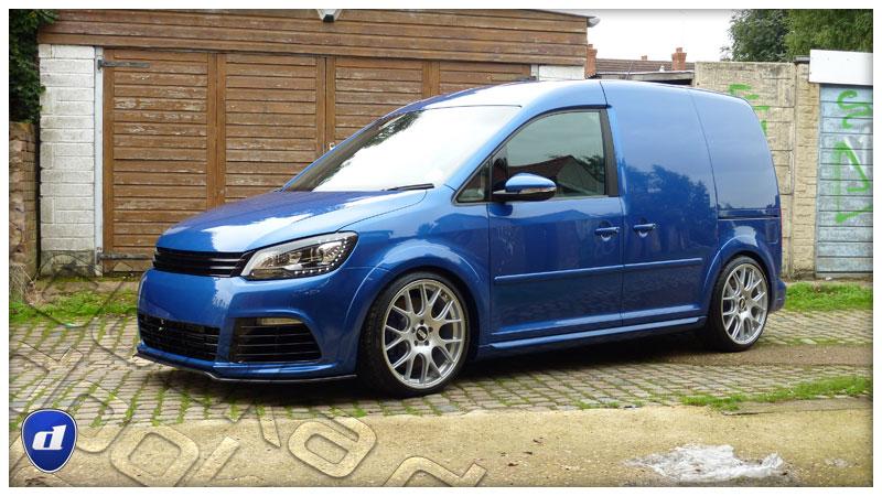 Caddy Van Gets Mk6 Golf R And Mk7 Gti Body Kits Looks Rad