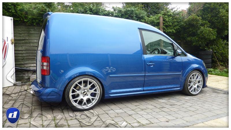 Caddy Van Gets Mk6 Golf R and Mk7 GTI Body Kits, Looks Rad - autoevolution