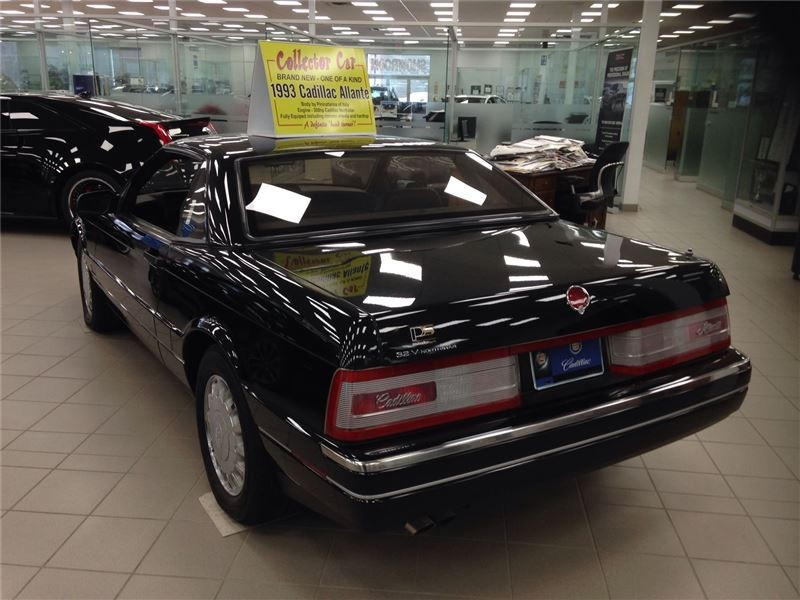 Brand New 1993 Cadillac Allante Sits Unsold In Canadian Dealer ...