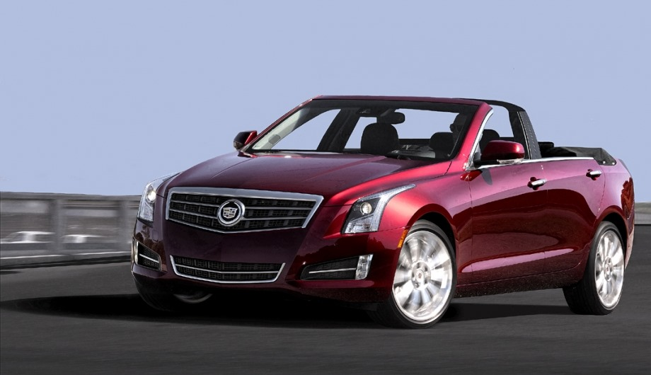 Cadillac Ats Becomes A Four Door Convertible Via Nce