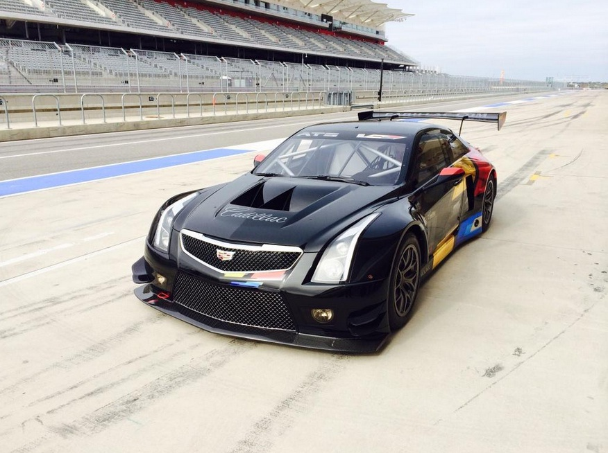 cadillac ats v r is a fia gt3 twin turbo monster video autoevolution. Black Bedroom Furniture Sets. Home Design Ideas