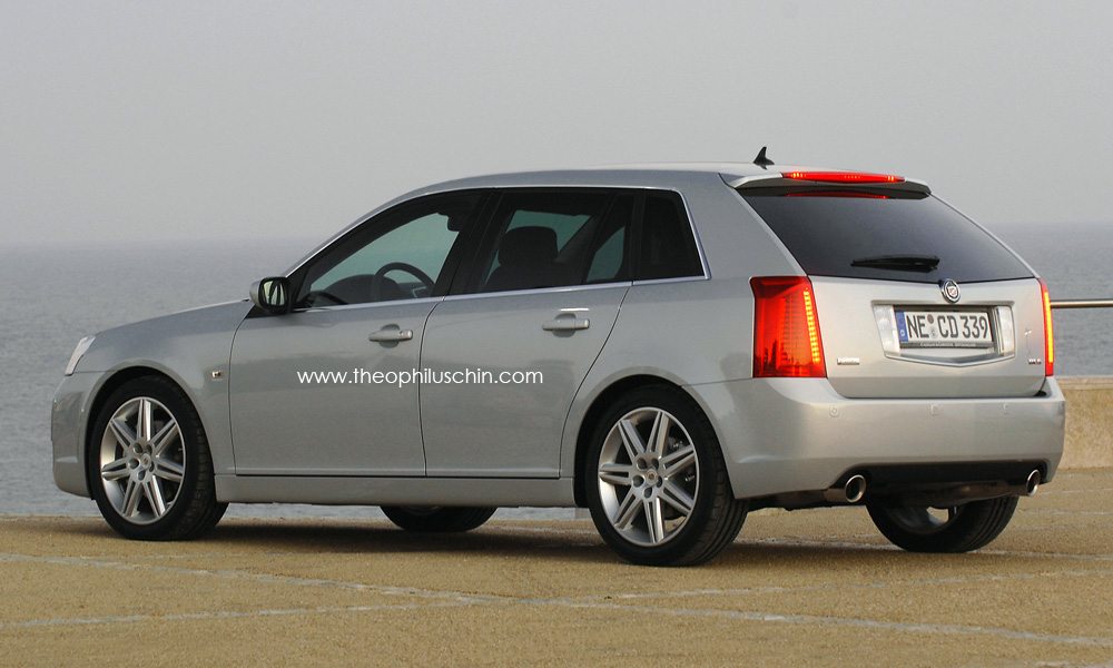 Cadillac Bls Gets What If Hatchback Rendering