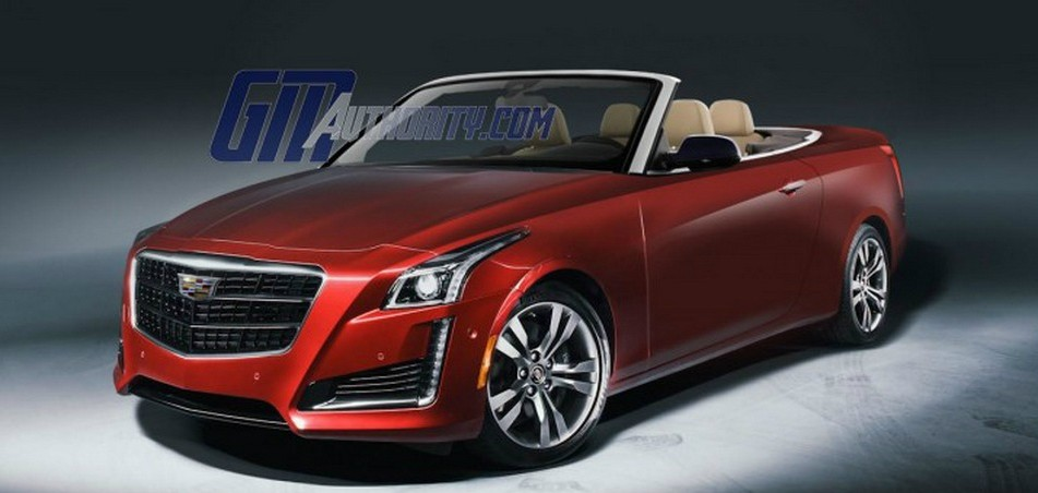Cadillac CTS Convertible Masterfully Rendered - autoevolution