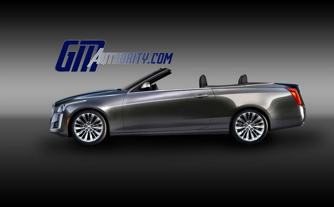 cadillac cts convertible masterfully rendered autoevolution. Black Bedroom Furniture Sets. Home Design Ideas