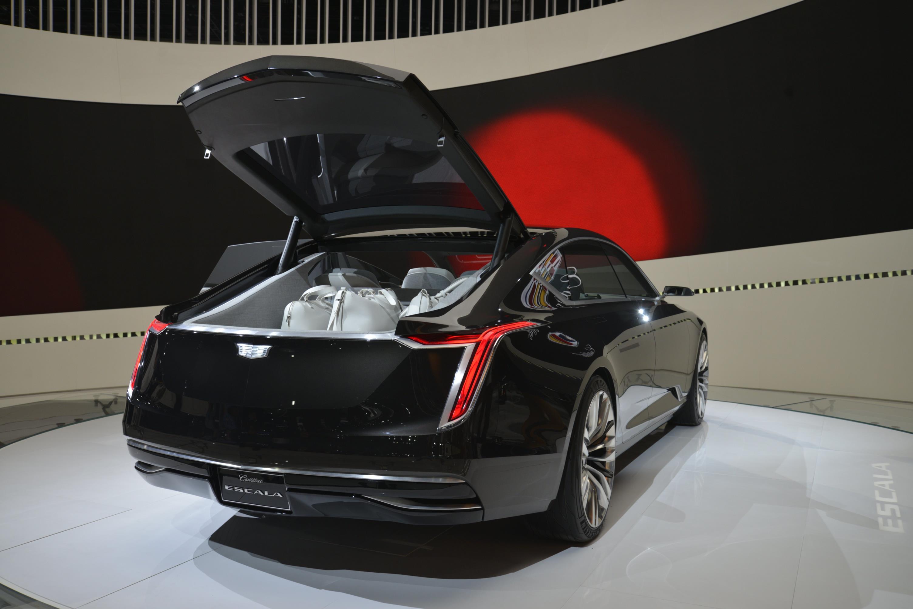 Cadillac Escala vs. Buick Avista: Which LA Concept Is