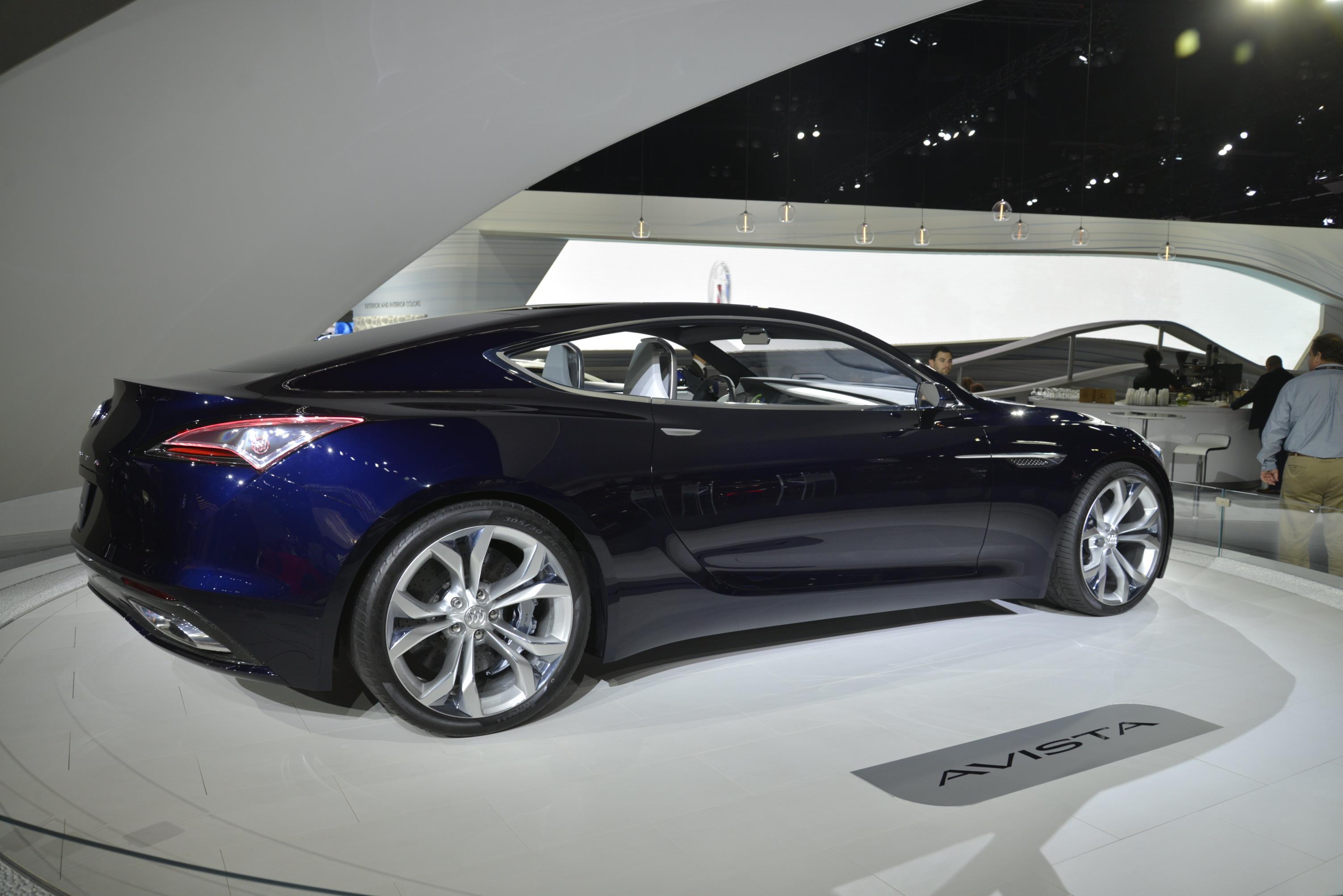 Cadillac Escala vs. Buick Avista: Which LA Concept Is ...