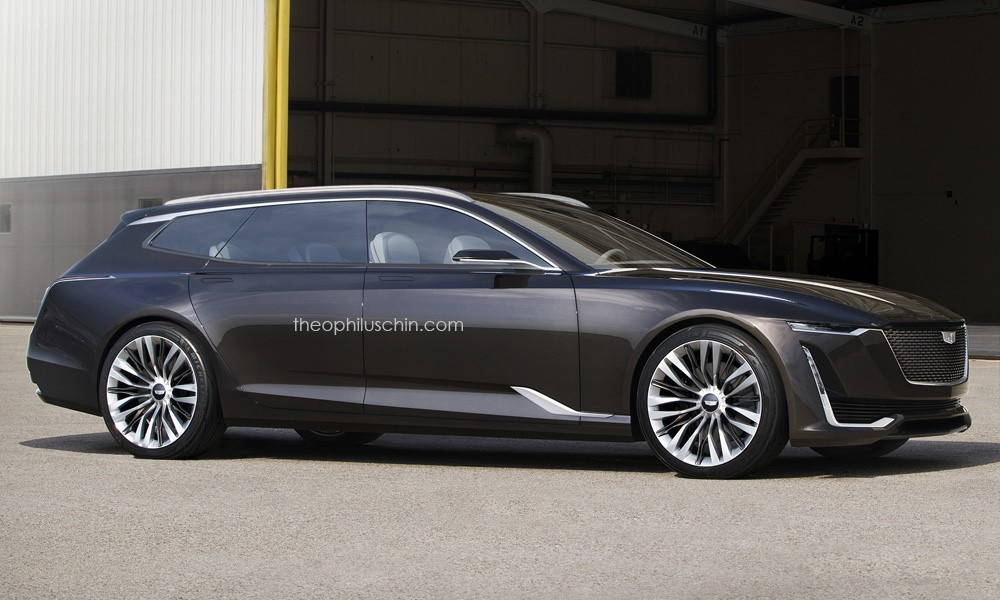 Cadillac Escala Wagon Concept Would Make The Audi Prologue