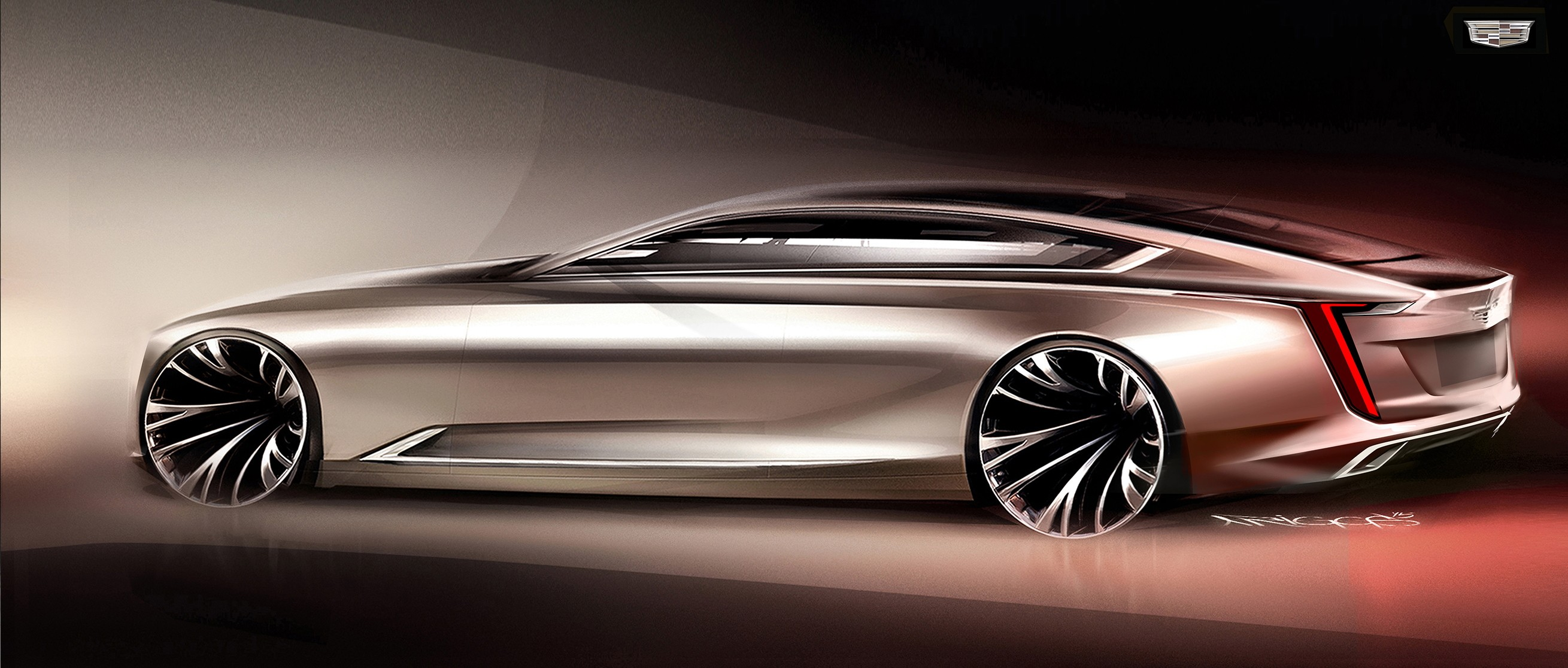 Xts Vs Cts >> Cadillac Escala Concept Debuts 4.2-Liter Twin-Turbo V8 ...