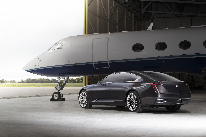 Cadillac Escala on Corvette Engine Block