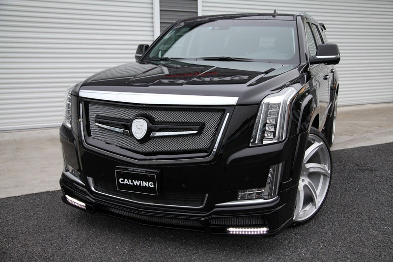 Cadillac Escalade Gets Calwing Body Kit From Japan And