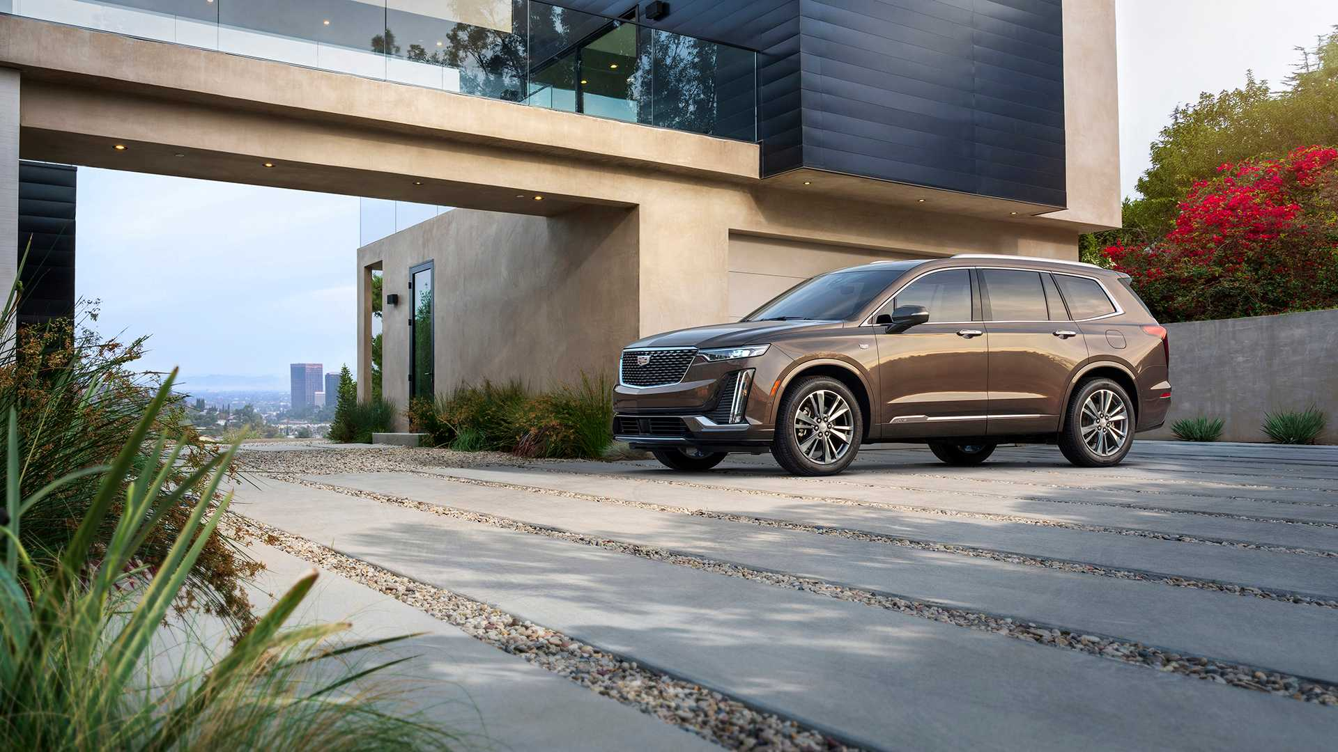 Cadillac Ev Previewed By Three Row Crossover Concept