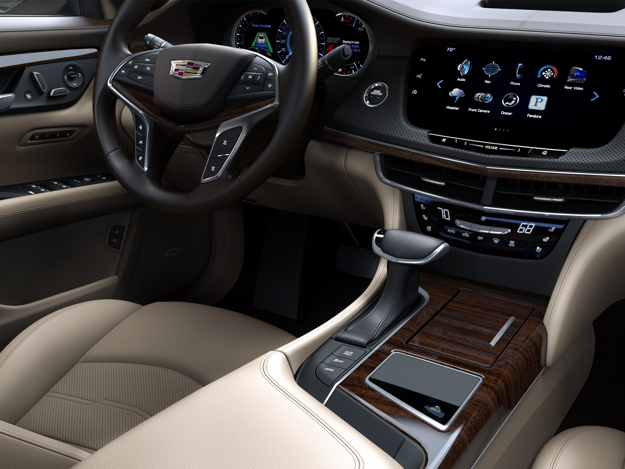 cadillac to introduce a new v8 engine on the ct6 autoevolution. Black Bedroom Furniture Sets. Home Design Ideas