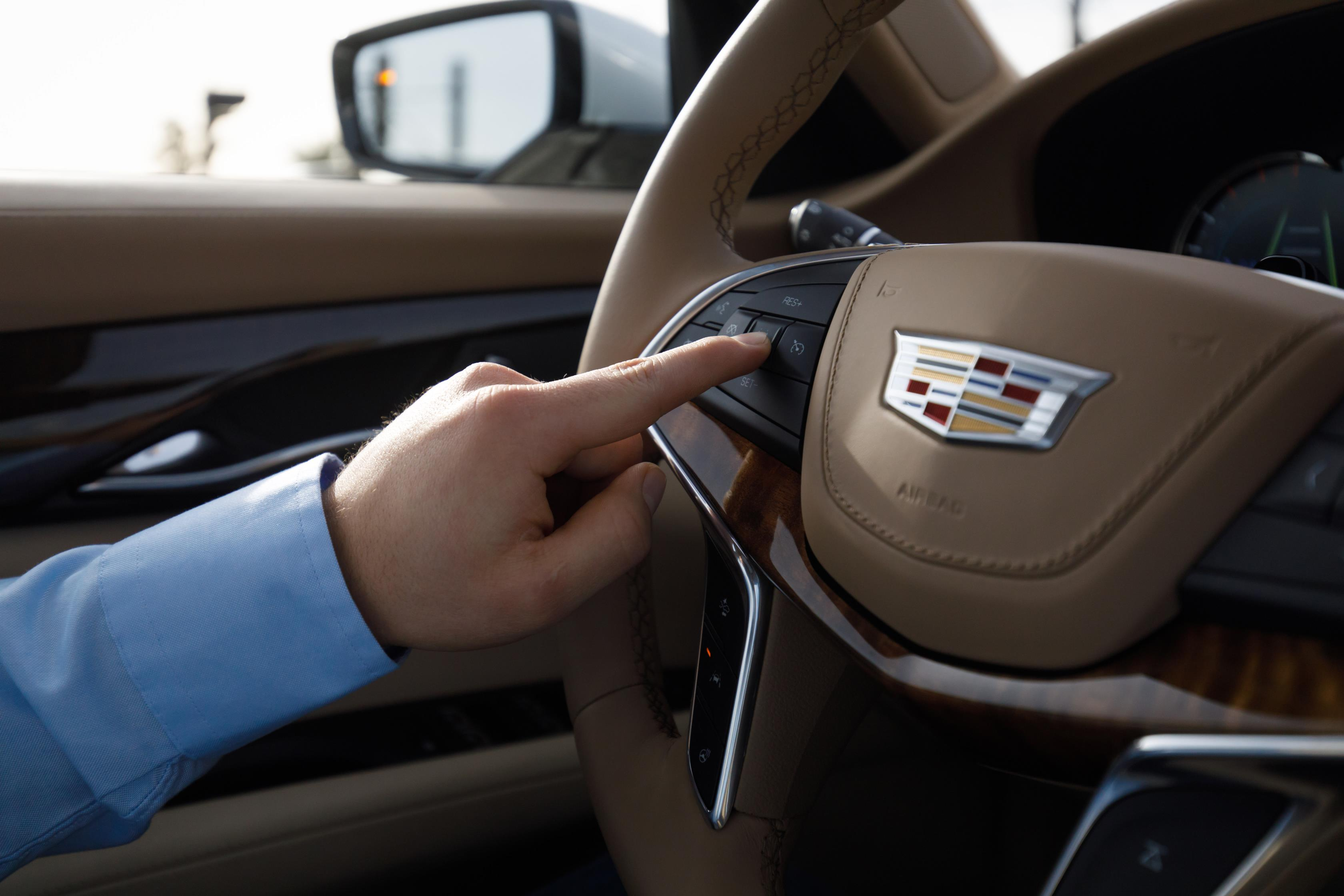 2018 cadillac ct6 with super cruise semi autonomous technology