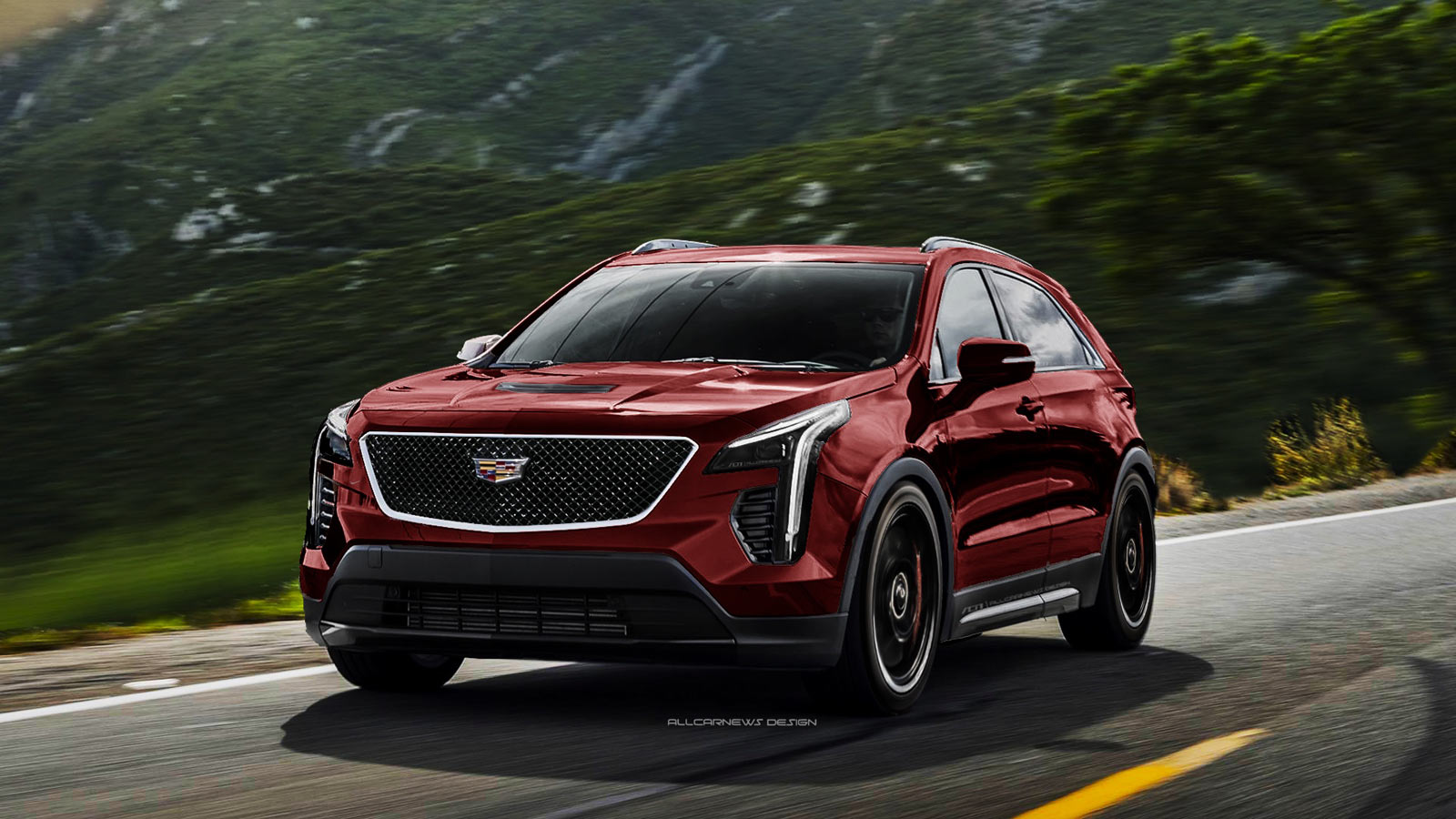 Cadillac Xt4 V Sport Imagined As Bmw X2 M35i Competitor