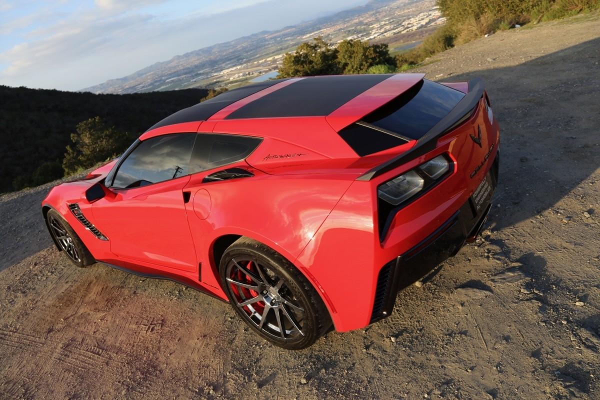 Callaway Corvette Aerowagen Drops By Jay Leno S Garage