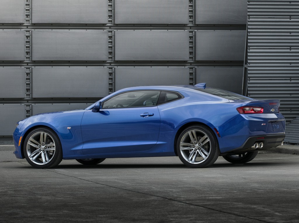 2017 Chevrolet Camaro 1ls Slotted Below 1lt Trim Level