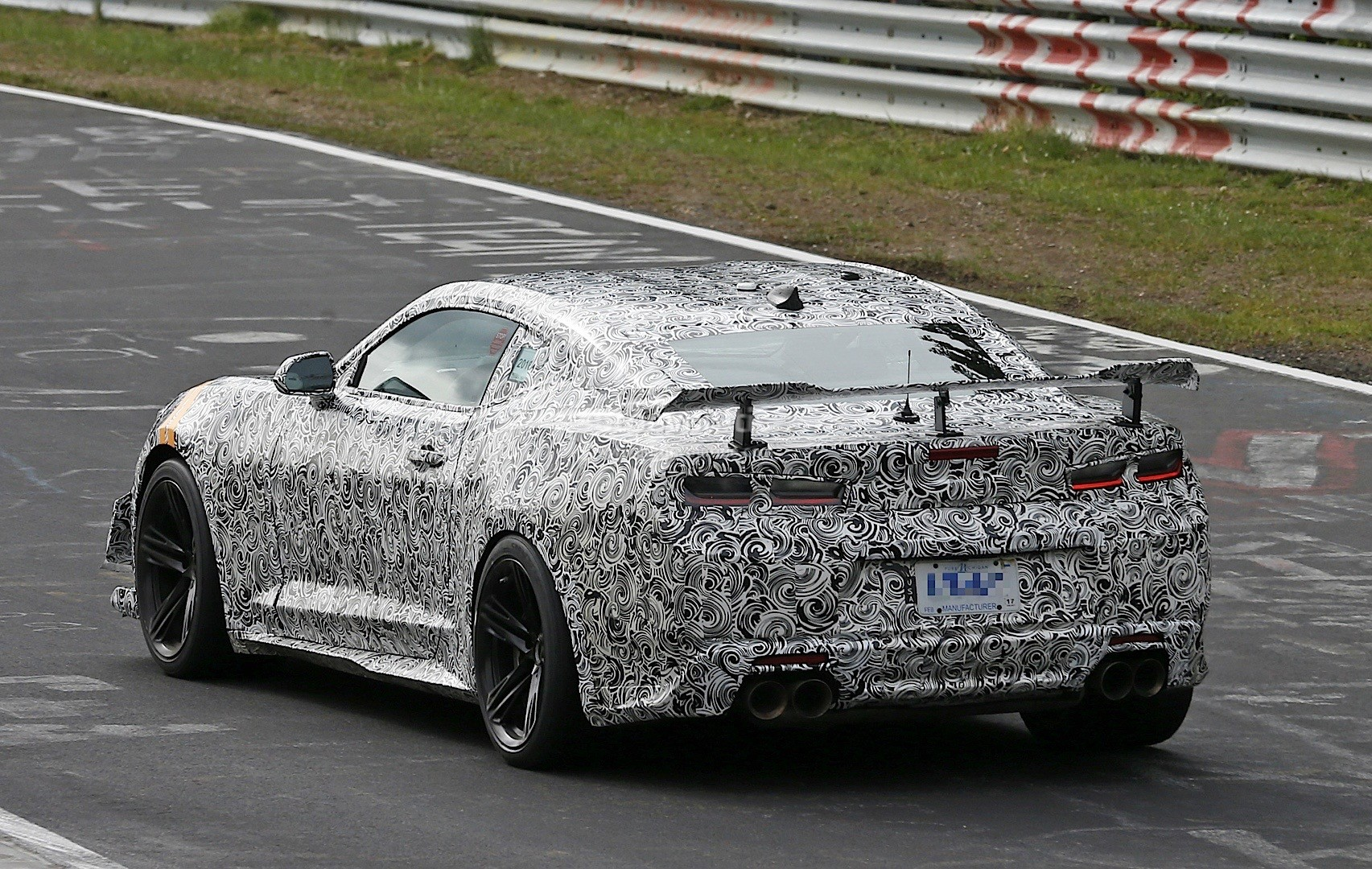 2018 Chevrolet Camaro Z 28 Spied Out For Shelby Gt350r